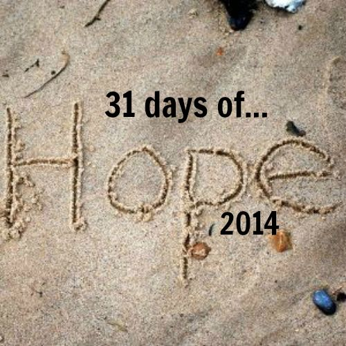 31 days_2014_hope