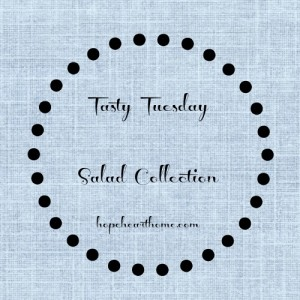 tasty tuesday: vicki's black and red bean salad