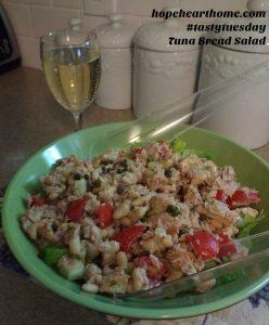 tasty tuesday: tuna bread salad (panzanella)