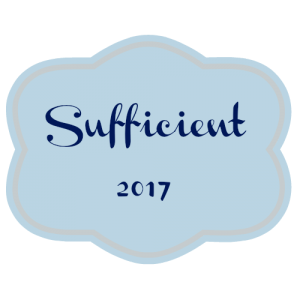 my one word 2017: SUFFICIENT